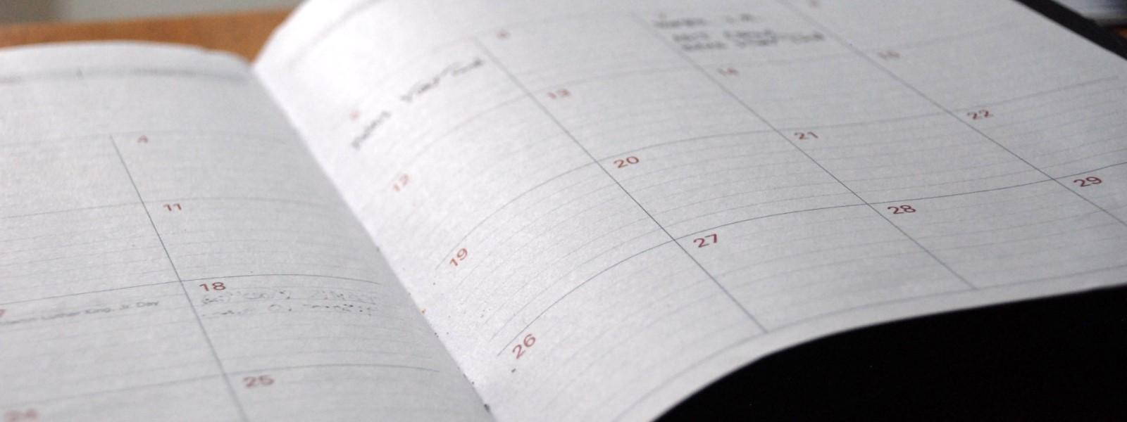 admin diary pa